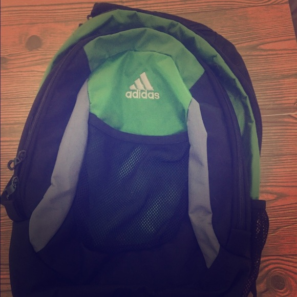 ADIDAS Green and black Backpack 966314bb7dba7